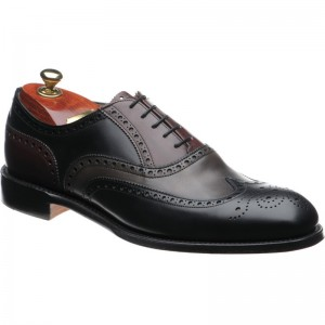 James II two-tone brogue