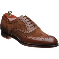 Edwin II two-tone shoe
