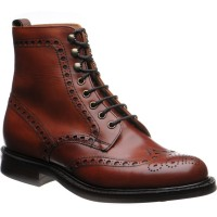 Tweed R brogue boots