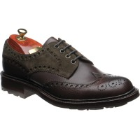 Avon B two-tone brogue