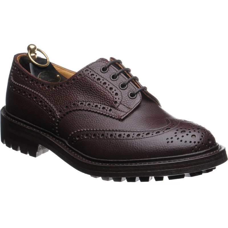 Trickers Ilkley rubber-soled brogue