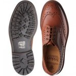 Trickers Keswick rubber-soled brogue