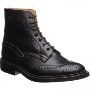 Trickers Stow rubber-soled brogue boot