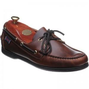 Sebago Endeavor rubber-soled deck shoes