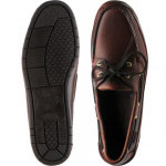 Sebago Schooner rubber-soled deck shoe
