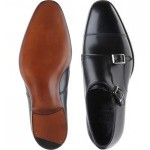 Alfred Sargent Ramsey double monk shoe