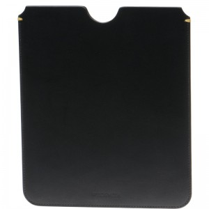iPad Case in Black Calf