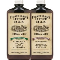 Leather Milk No.2 and No.6 Clean and Condition Set