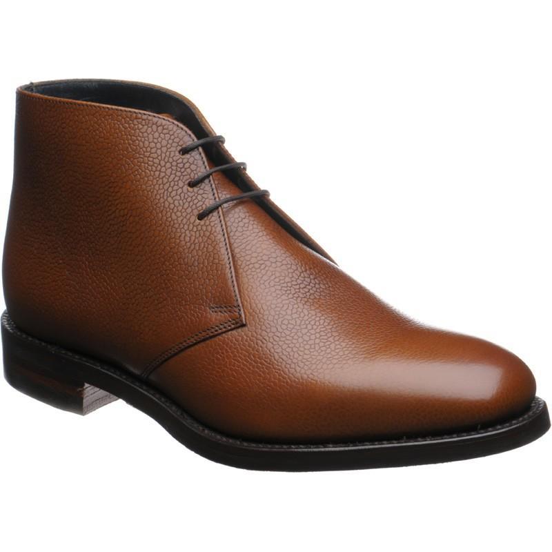 Herring Gosforth II rubber-soled Chukka boot