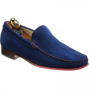 Venice in Electric Blue Suede