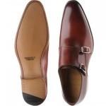 Herring Shakespeare double monk shoe