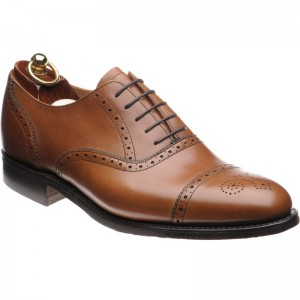 Lambeth rubber-soled semi-brogue