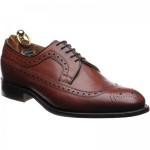 Herring Lewisham rubber-soled brogue