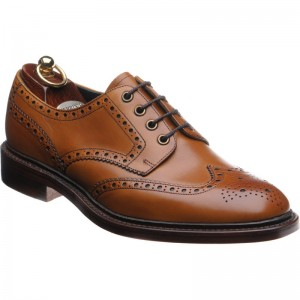Herring Harvey in Dark Tan Calf