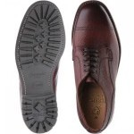 Herring Wasdale rubber-soled Derby shoe