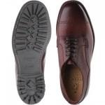 Herring Wasdale rubber-soled Derby shoes