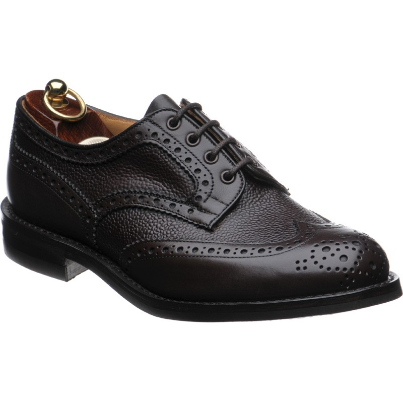 Herring Skiddaw rubber-soled brogue