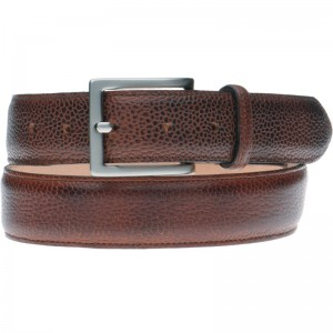 Herring Cumbria Belt in Mahogany Grain