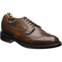 Herring Canning rubber-soled brogues in Mahogany Calf