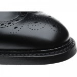 Herring Canning rubber-soled brogue
