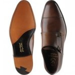 Herring Attlee double monk shoe