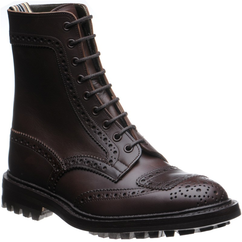 Herring Charley rubber-soled brogue boot