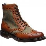 Herring Exmoor tweed brogue boots