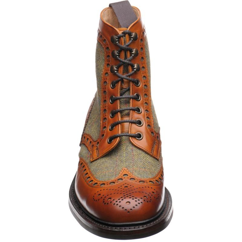 Herring Shoes Herring Premier Exmoor Tweed Brogue Boot