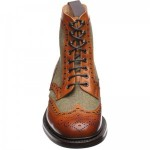 Herring Exmoor tweed brogue boot