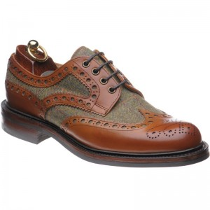 Dartmoor tweed brogue
