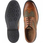 Herring Dartmoor tweed brogue