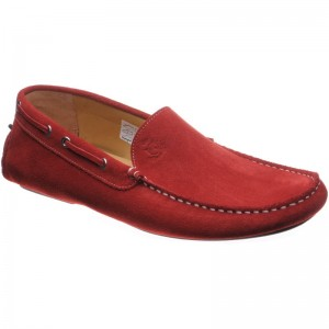 Herring Maranello in Red Suede