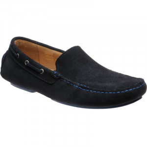 Herring Maranello driving moccasin in Navy Suede