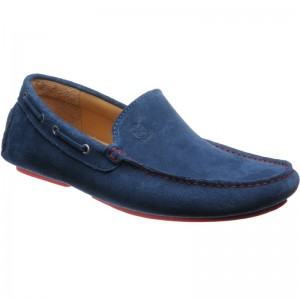 Herring Maranello driving moccasin in Jeans Suede