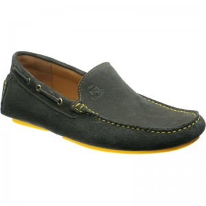 Herring Maranello driving moccasin in British Racing Green