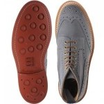 Herring Stow Suede brogue boot