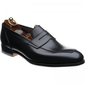 Herring James loafer in Black Calf