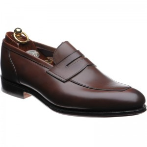 Herring James loafers in Espresso Calf