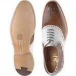 Herring Harvard II two-tone shoe