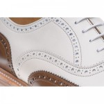 Herring Soho two-tone brogue
