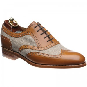 Henley II two-tone brogue