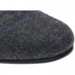 Sandringham tweed slippers