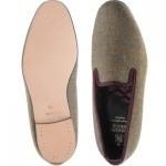 Herring Sandringham tweed slipper