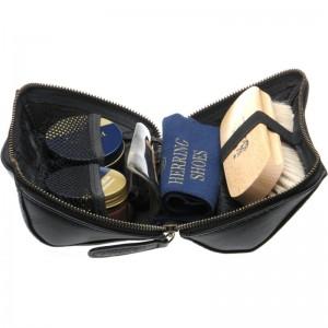 Rhinefield Shoe Care Kit in Black Calf
