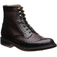 Coniston two-tone brogue boots