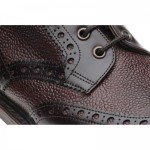Herring Coniston two-tone brogue boots