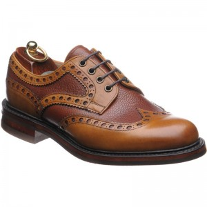 Herring Sandhurst in Chestnut Calf Grain