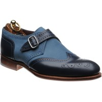 Herring Philip II two-tone monk shoe