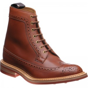 Herring Froswick rubber-soled brogue boot