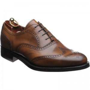 Herring Gladstone rubber-soled brogue